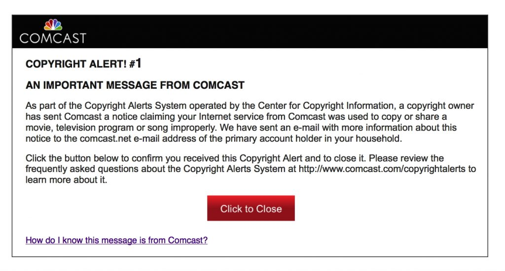 If your ISP does contact you, it will be through email, written letters, or browser messages.