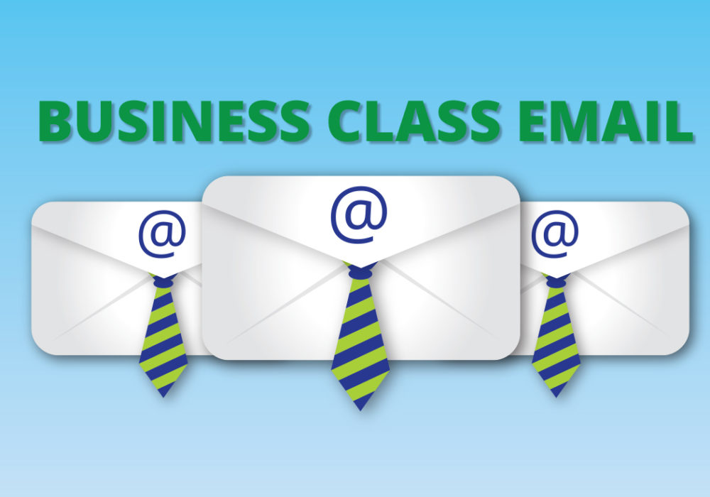 The Benefits of Business-Class Email